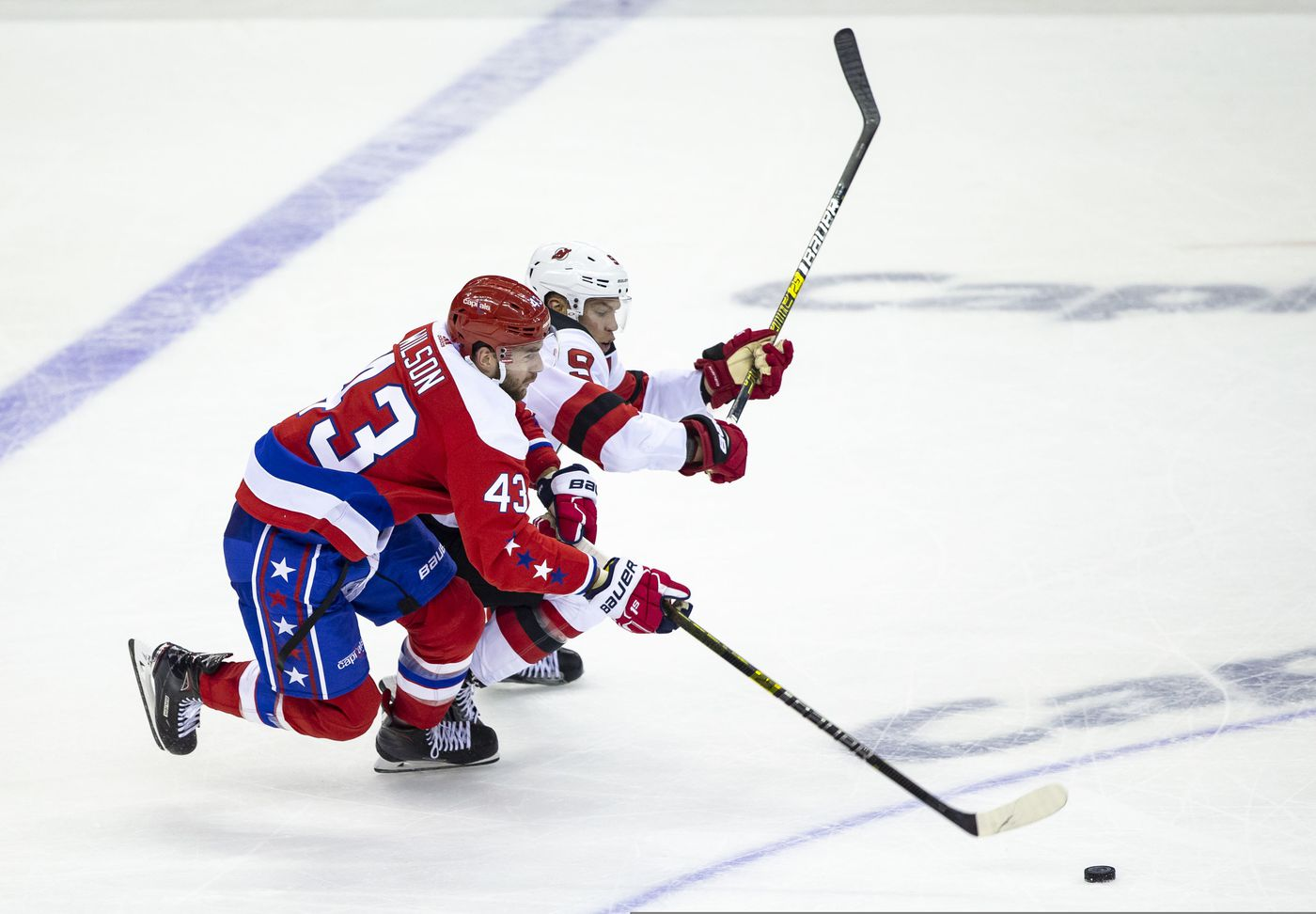 low priced bda38 c4d51 Wilson scores, is ejected as Capitals extend win streak to 7