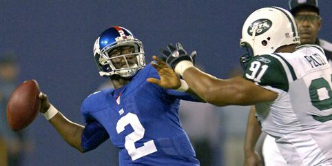 Ex-Giants QB Anthony Wright shot multiple times in domestic dispute