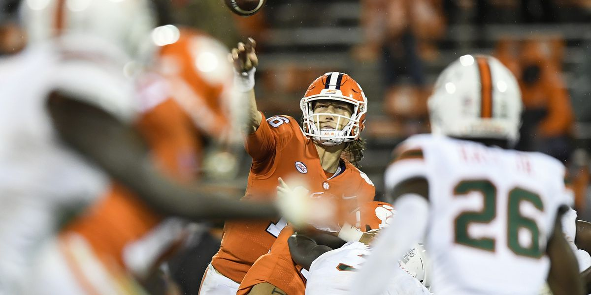 Clemson QB Lawrence tests positive for COVID-19, will miss Saturday's game vs. Boston College
