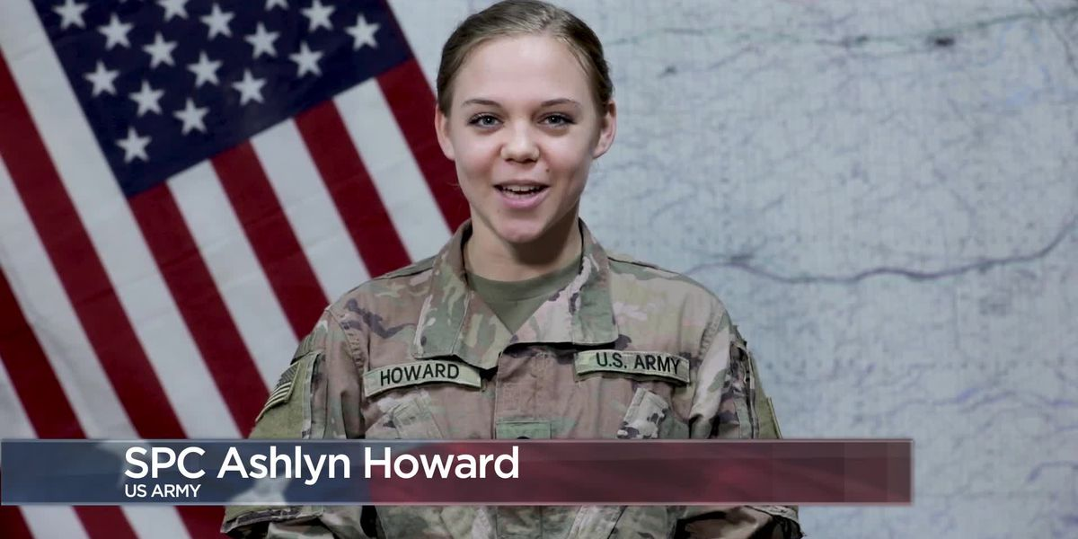 Military Greetings - Spc. Ashlyn Howard