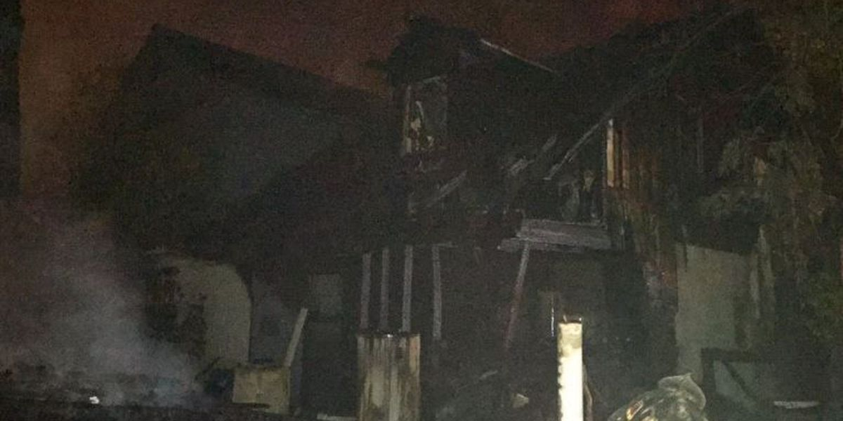 One displaced after Friday night house fire