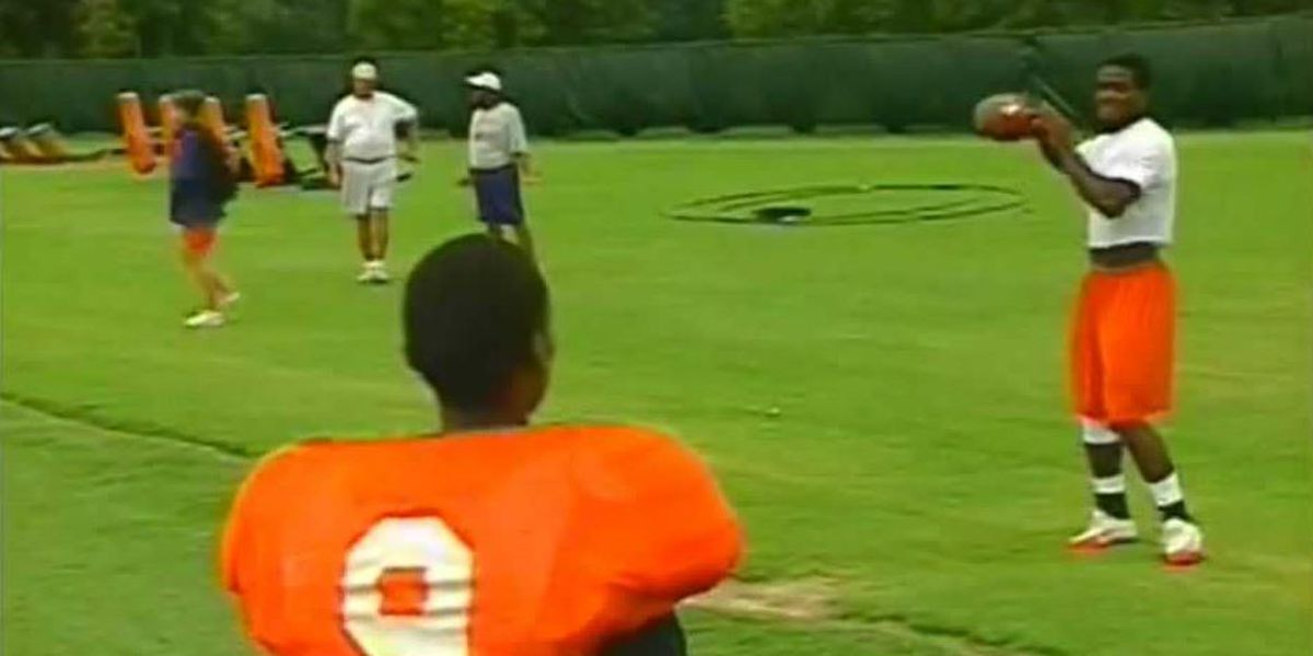 Buzz building for Disney Plus movie about Clemson football player's inspiring story