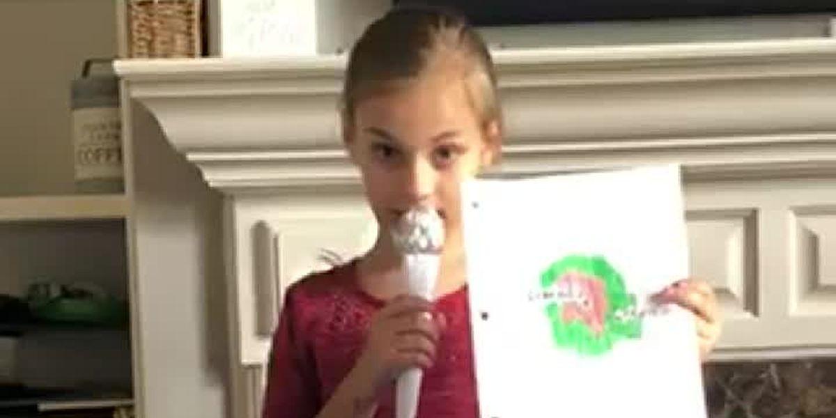 Local children put on their own WIS newscast
