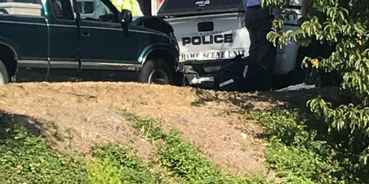Officer 'greatly injured' after truck slams into back of CPD vehicle