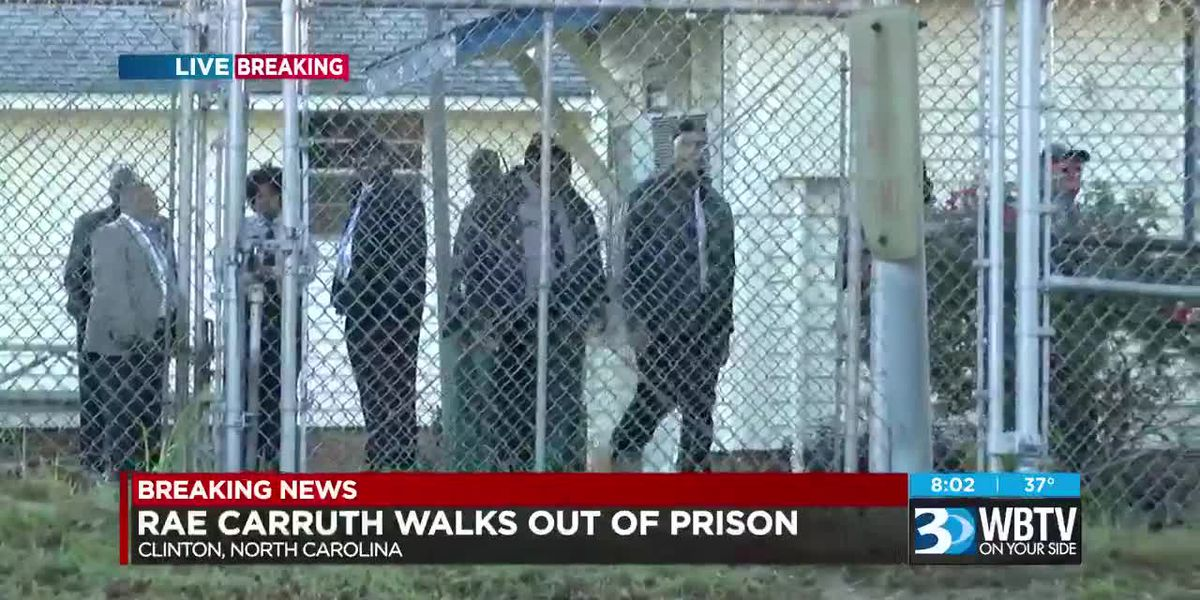 BREAKING: Rae Carruth released from prison Monday morning