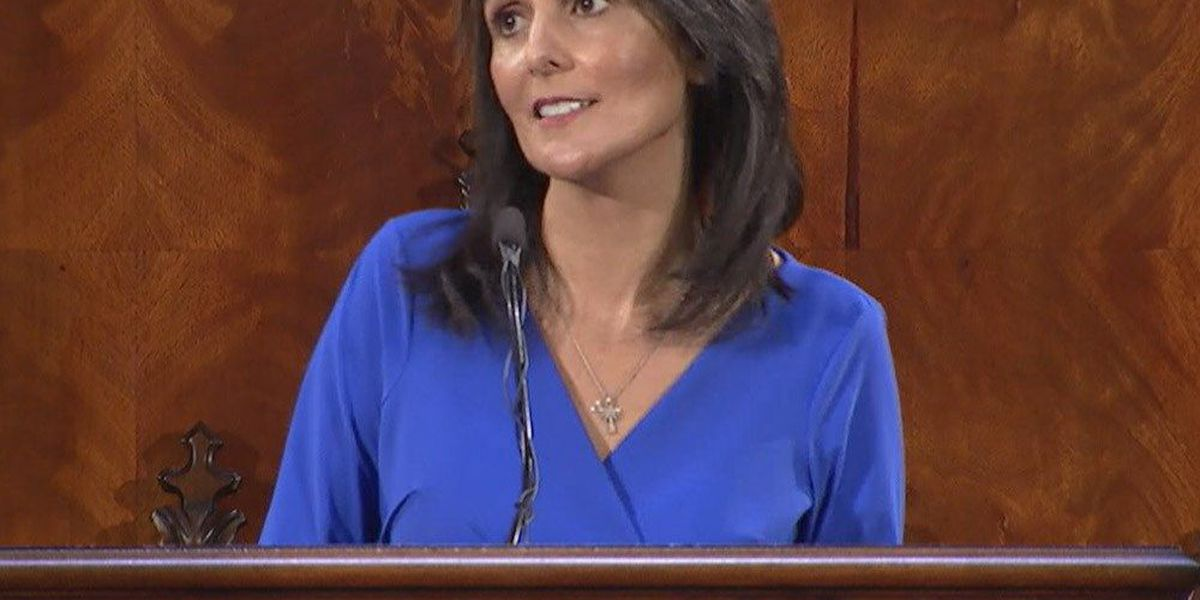 Haley praised, criticized in final State of the State address