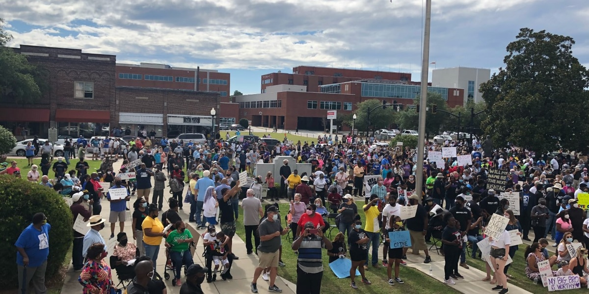 Sumter County community unites for peaceful march and rally