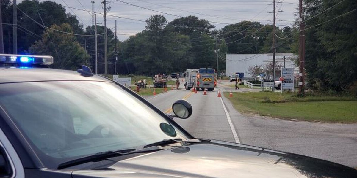 Police reopen Industrial Drive after gas leak causes road closure