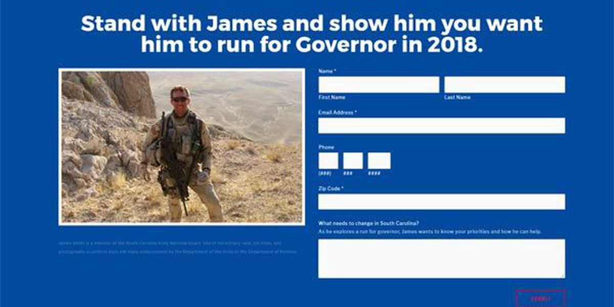 Is Rep. James Smith gearing up for run for governor?