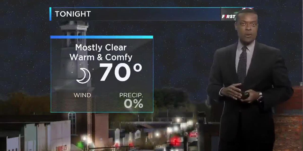 Dominic Brown's September 20 Nighttime Forecast
