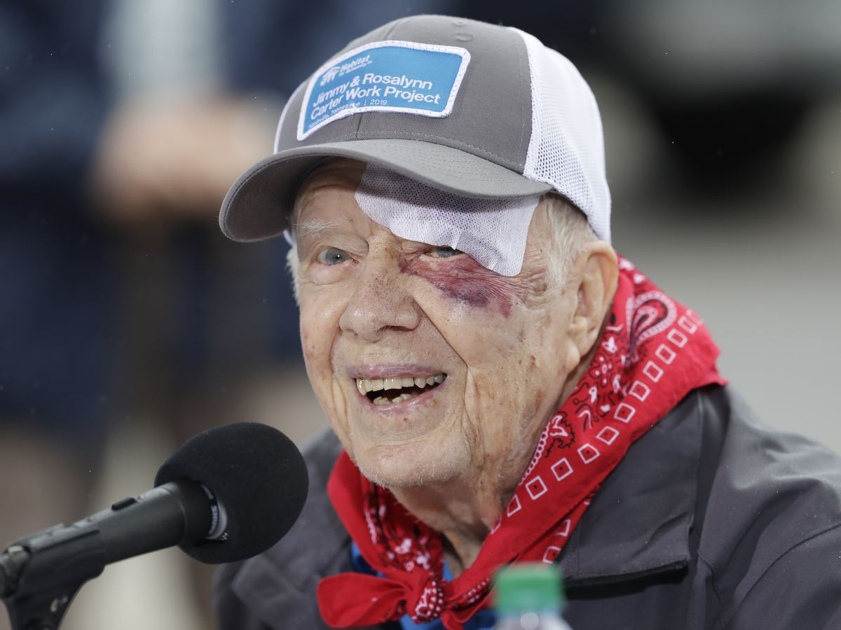 Former President Carter out of surgery, no complications