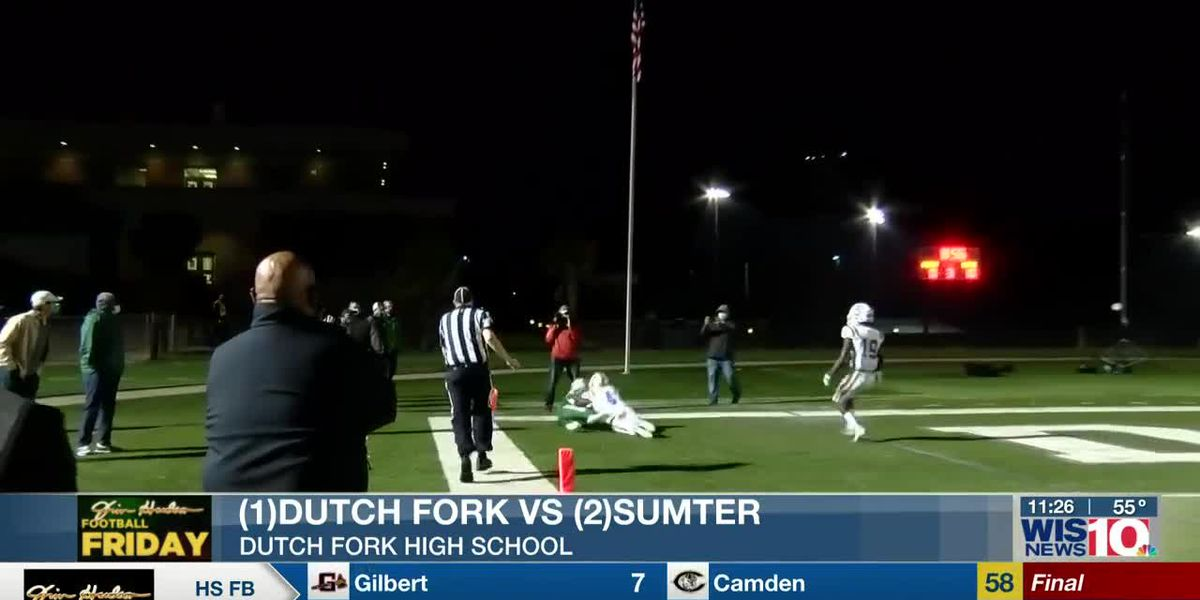 PLAY 1: Dutch Fork's Elijah Spence makes the TD grab