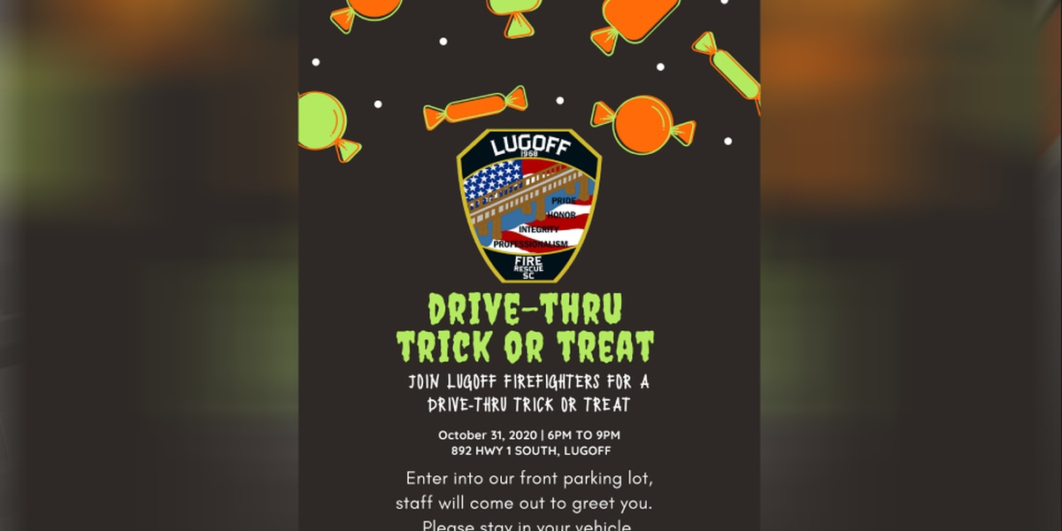 Lugoff Fire to host drive-through Trick or Treating event
