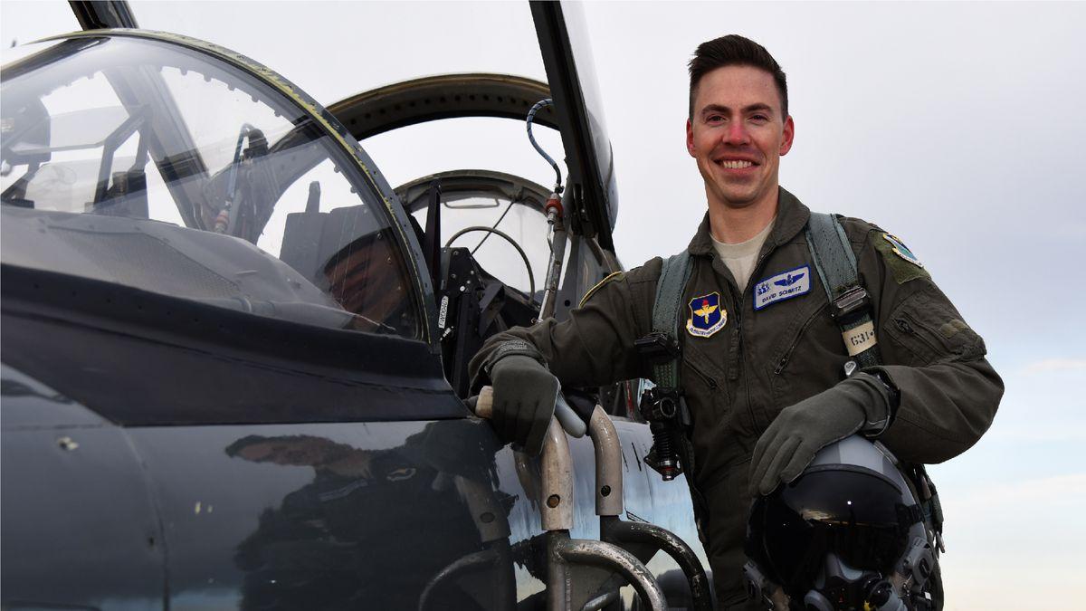 LIVE: Memorial Service for fallen Shaw Air Force Base pilot Lt. David Schmitz underway