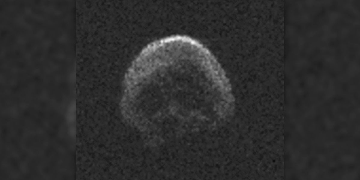 A skull-shaped asteroid is not headed for Earth this Halloween