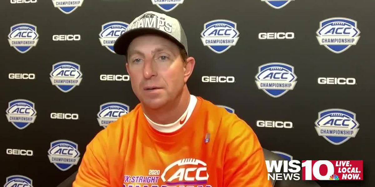 Tigers react after 34-10 ACC Championship win over Notre Dame