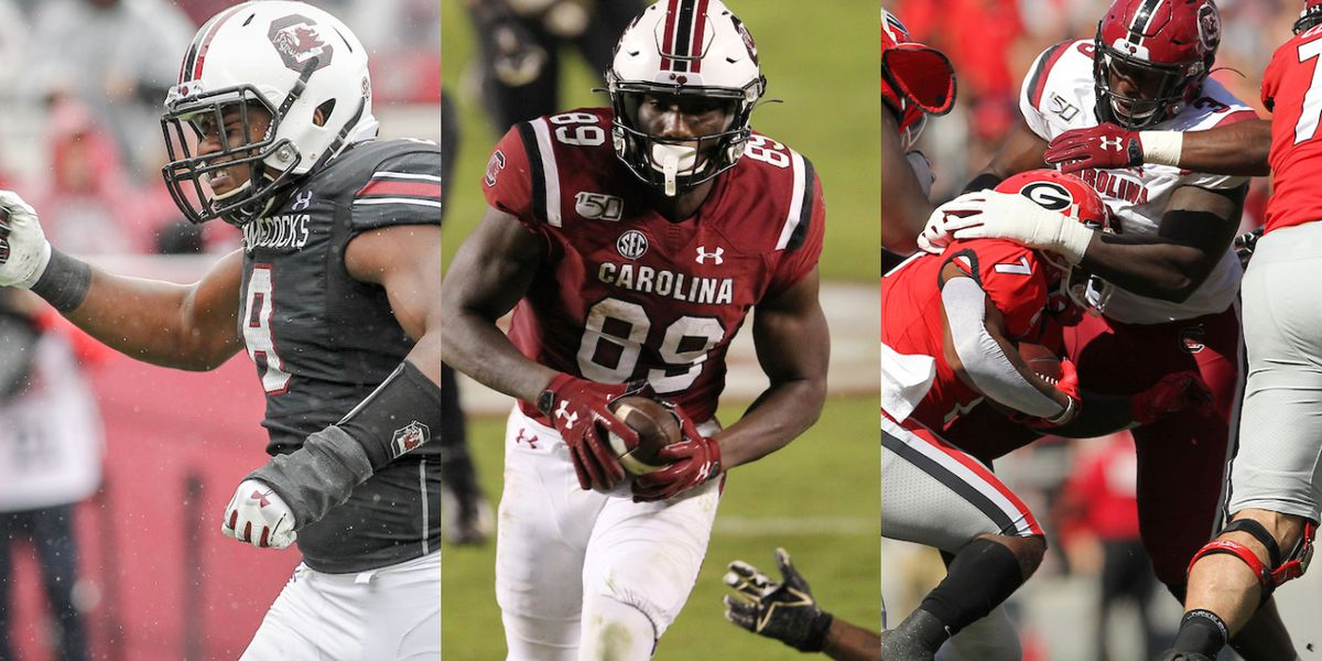 Trio of Gamecocks accept invites to Senior Bowl