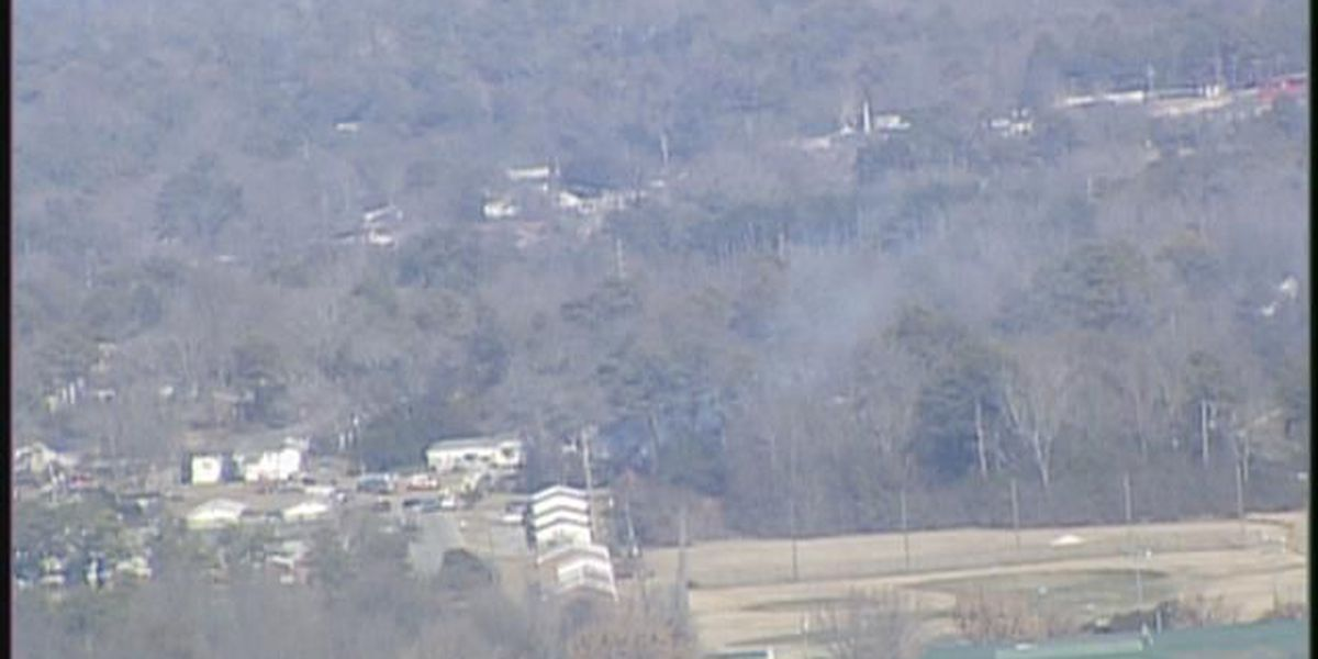 Firefighters work fire at abandoned home in Columbia