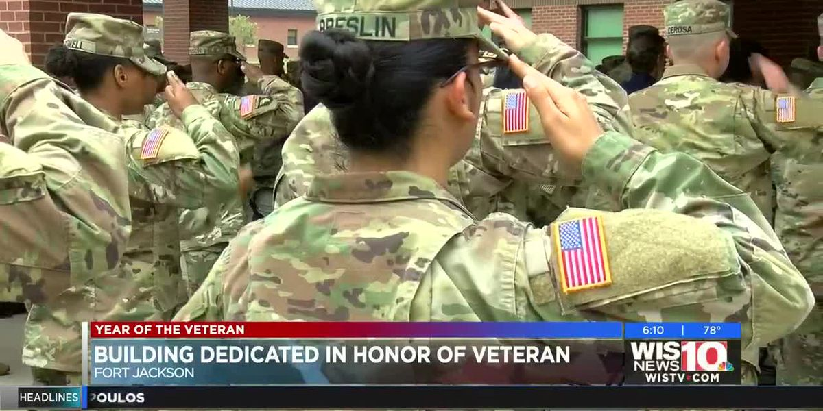 Year of the Veteran: Building named in honor of Fort Jackson vet