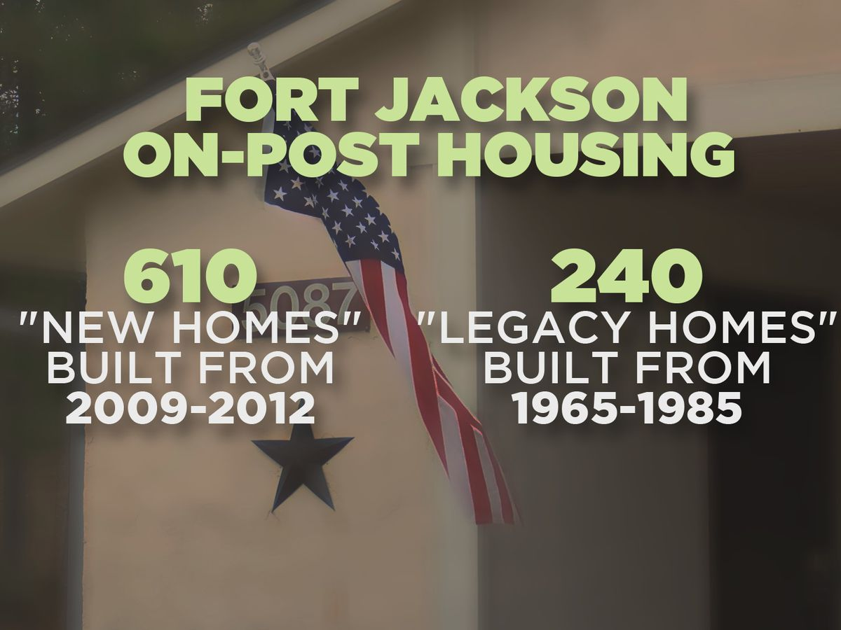 'We've dropped the ball,' Fort Jackson leadership says as it works to improve on-post housing