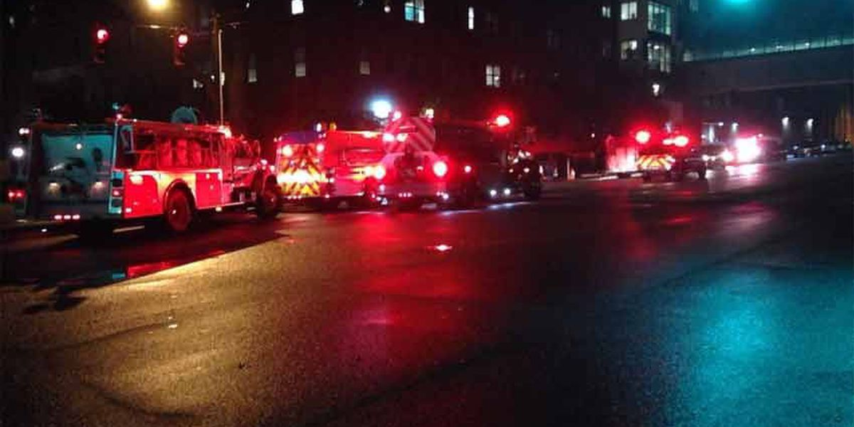 Firefighters help local hospital with getting coolant system up and running