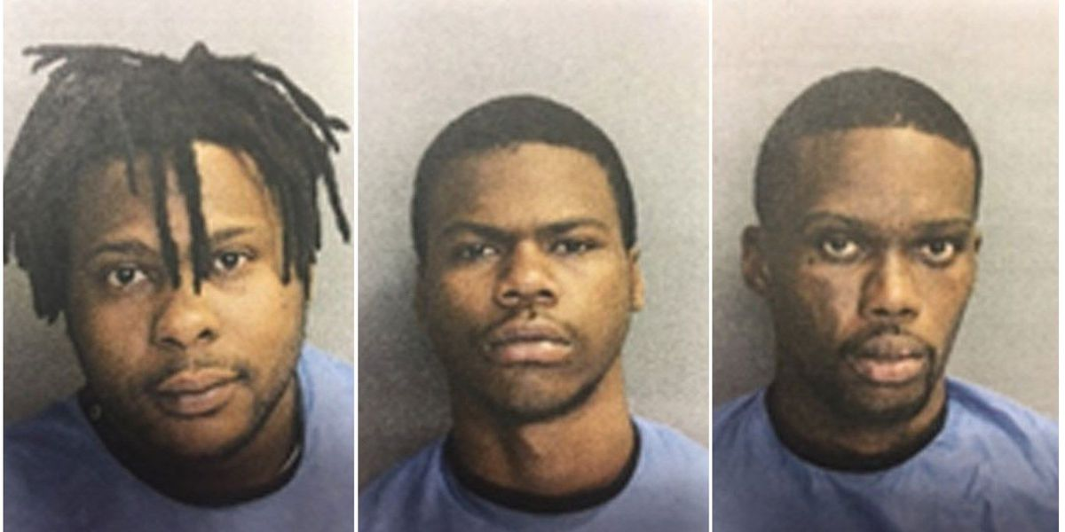 Three arrested on murder, attempted murder charges